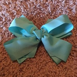 Other - Mint green/ turquoise hair bow